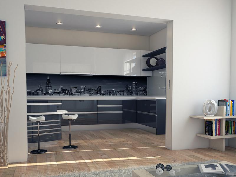Spazio kitchen living mobili a scomparsa e soluzioni for Coprifili tv